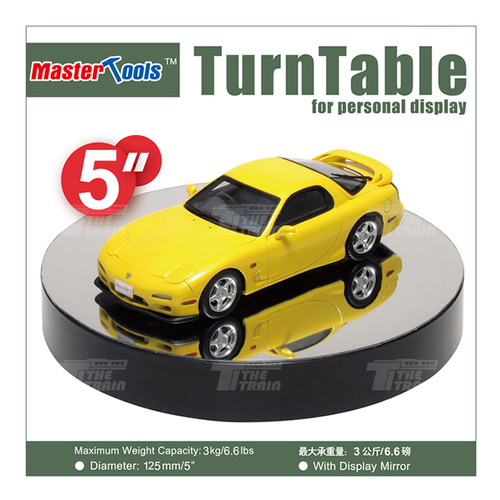 TP09836 TurnTable Display Mirror Ver.2 125mm