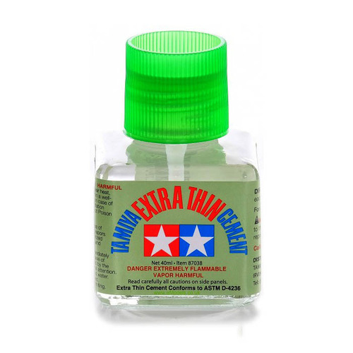 87038 Tamiya Glue 40ml Extra Thin Cement
