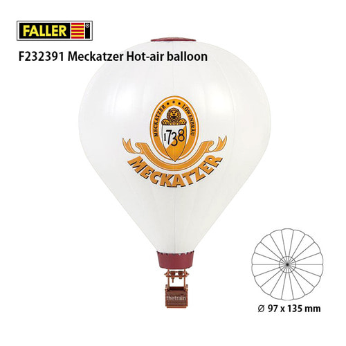 F232391 Meckatzer Hot-air balloon