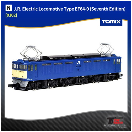 TM9102 J.R. Electric Locomotive Type EF64-0 (Seventh Edition)