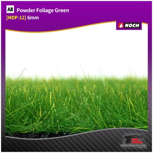 MDP-12 Powder Foliage Green 6mm