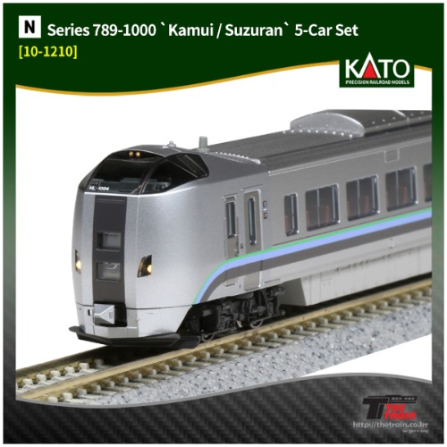 KATO 10-1210 Series 789-1000 [Kamui/Suzuran] 5Car Set