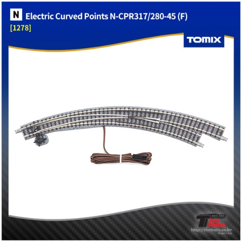 TM1278 Electric Curved Points N-CPR317/280-45 (F)