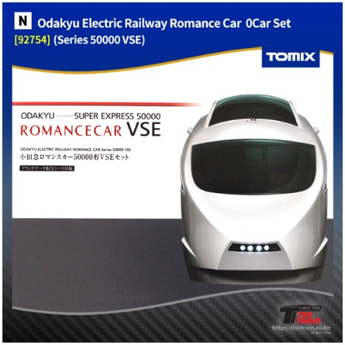 TM92754 Odakyu Electric Railway Romance Car Series 50000 VSE 10Car Set