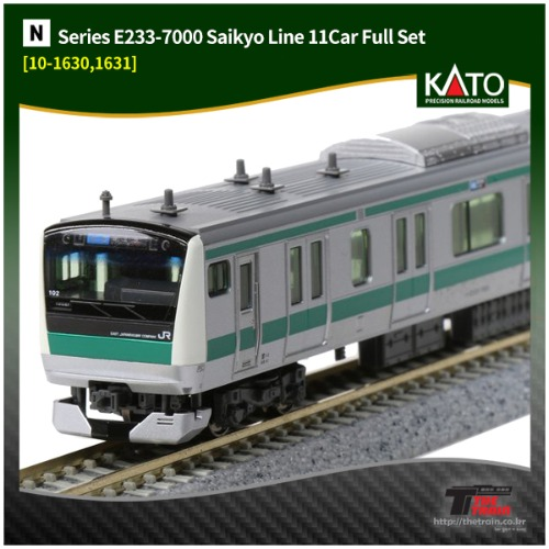 KATO 10-1630F Series E233-7000 Saikyo Line 10Car Full Set