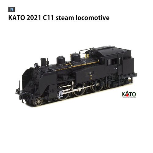 KATO 2021 C11 steam locomotive