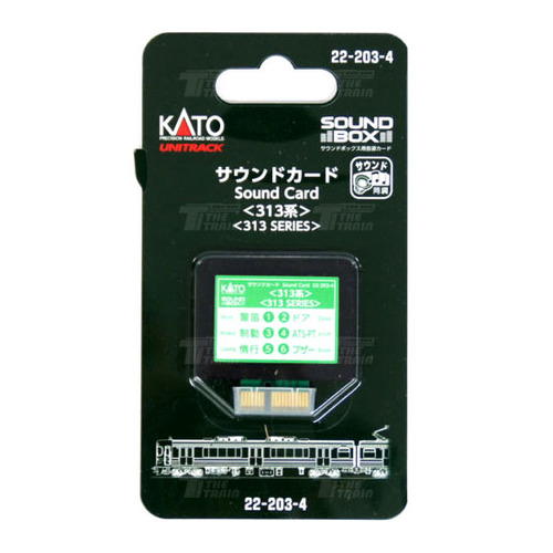 KATO 22-203-4 Sound Card Series 313 [for Sound Box]