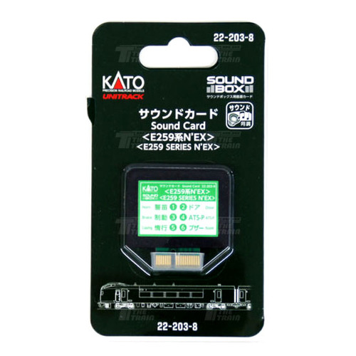 KATO 22-203-8 Sound Card Series E259-NEX [for Sound Box]