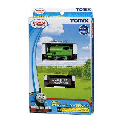TM93811 Percy Train Set (`Thomas the Tank Engine` Series) 2Car Set