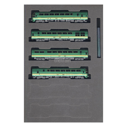 TM92310 J.R. Limited Express Diesel Train Series Kiha71 4Car Set