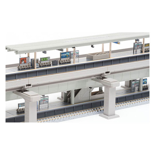 TM91043 Viaduct Double Track Hierarchical Station Set (Rail Pattern HB-B)