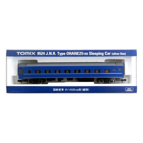 TM9524 J.N.R Type OHANE25-100 Sleeping Car (Silver Line)