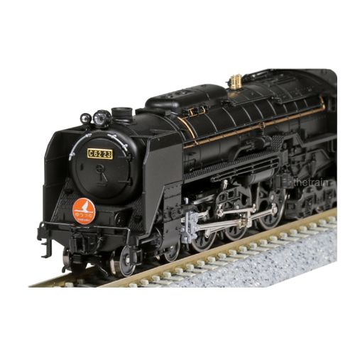 KATO 2017-6 Steam locomotive C62 Joban Type (Yuzuru Engine)