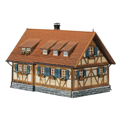 F232340 Rural half-timbered house