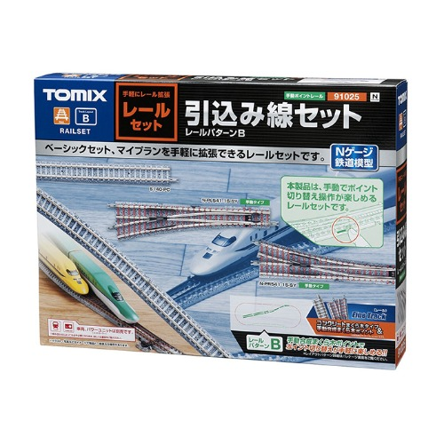 TM91025 Fine Track Sidetrack Set (Track Layout B)