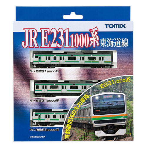 TM92369 JR Suburban E231-1000 `Tokaido Line` 3Car Set