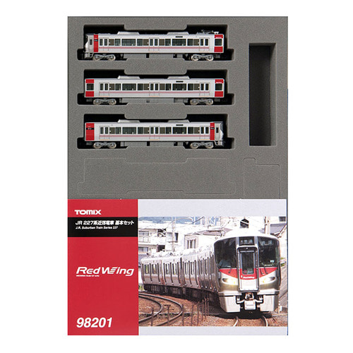 TM98201 JR Suburban Train Series 227 Basic 3Car Set