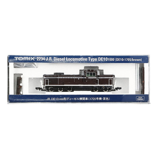 TM2234 J.R. Diesel Locomotive Type DE10-1000 (DE10-1705/Brown)