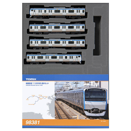 TM98381 Sagami Railway Series 11000 Basic 4Car Set