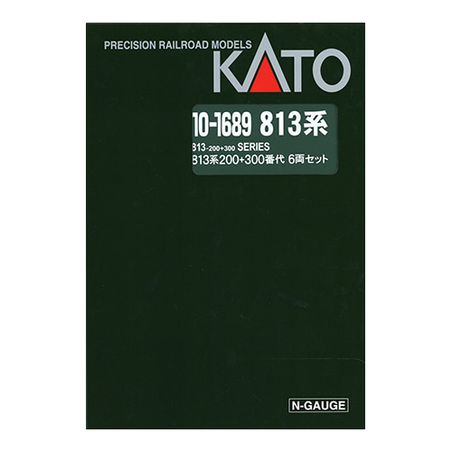 KATO 10-1689 [Limited Edition] Series 813-200 + 813-300 6Car Set