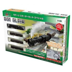 KATO 10-005 Series D51 Steam Locomotive Starter Set