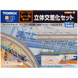 TM91027 FINE TRACK Bridge Approach Set Track-Layout Pattern C