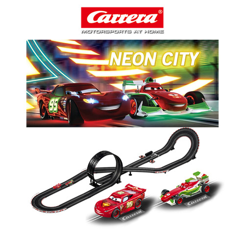 CA62357 CARRERA GO DISNEY CARS NEON CITY
