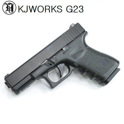 KJ G23 Gas Blowback Gun 각인버전 (ABS Version)