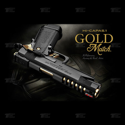 142672 Marui Hi-capa 5.1 Gold Match