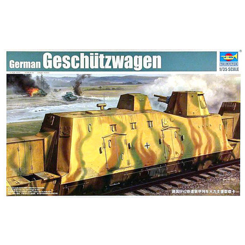 01509 1/35 German Geshutzwagen (Cannon Car)