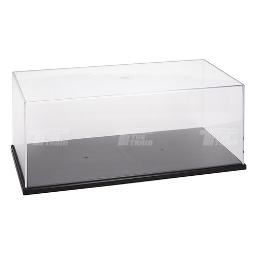 09814 Plastic transparent case 325x165x125mm