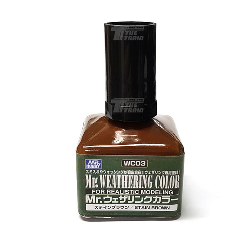 WC03 Mr.Weathering Color - Stain Brown