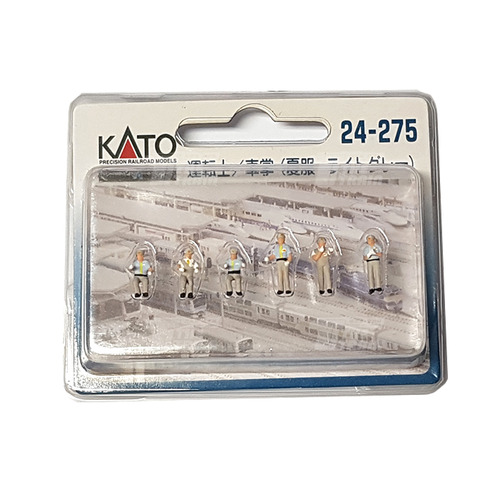 KATO 24-275 Motorman/Conductor (Summer Clothes/Light Gray)