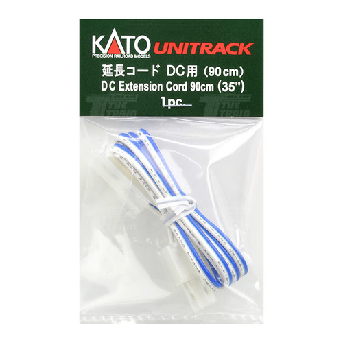 KATO 24-825 DC Extension Cord 90cm (Blue/White) 1pcs