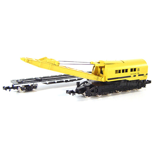 TM2771 JNR Railway Crane Type SO 80 (with Flat Wagon CHIKI 7000)