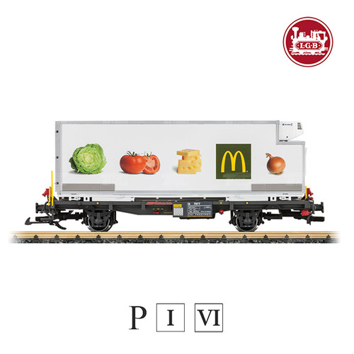 L46891 RhB McDonald's Container Car