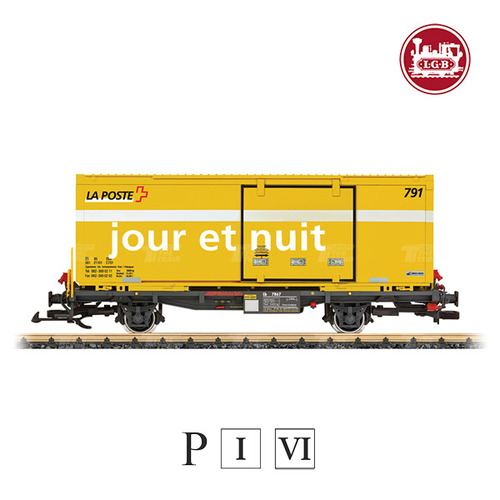 "G47894 RhB ""La Poste"" Container Transport Car"