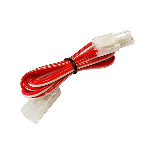 TTC01R DC Extension Cord 1M (Red/White) 1pcs