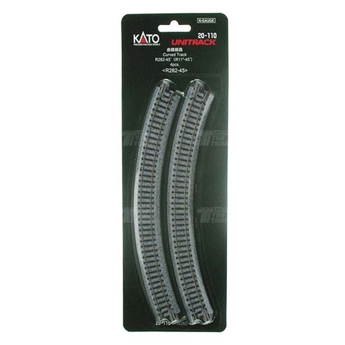 KATO 20-110 Curved Track R282-45 degree < R282-45 > 4pcs
