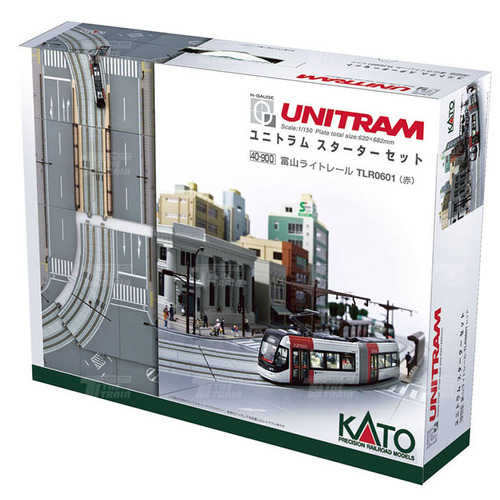 KATO 40-900 UNITRAM Starter Set (TLR0600 Purple)