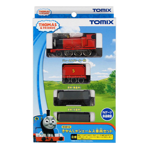 TM93812 James Train Set (`Thomas the Tank Engine` Series) 3Car Set