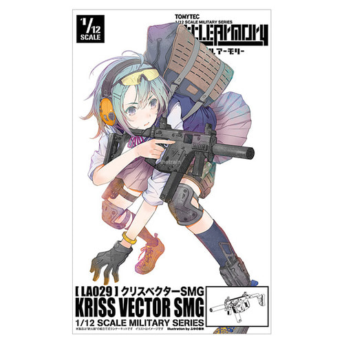 LA029 LittleArmory 1/12 KRISS Vector SMG