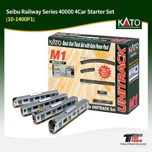 KATO 10-1400P1 Seibu Railway Series 40000 4Car Starter Set