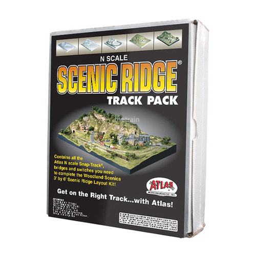 ST1182 Scenic Ridge Track Pack (N scale)