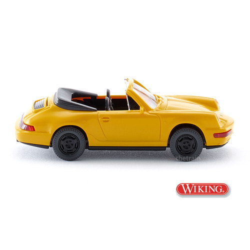 WK016504 1/87 Porsche Carrera Cabr. - yellow