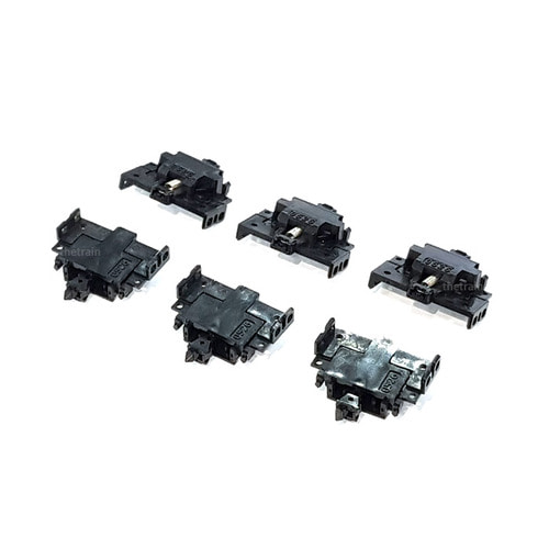 TM0336 `TN` Tight Coupling (Closely Joint TN Coupler) (SP, Black) 6pcs