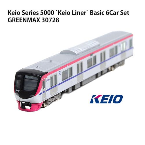 GM30728 Keio Series 5000 `Keio Liner` Basic 6Car Set