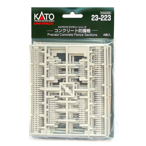 KATO 23-223 Precast Concrete Fence Sections 4set