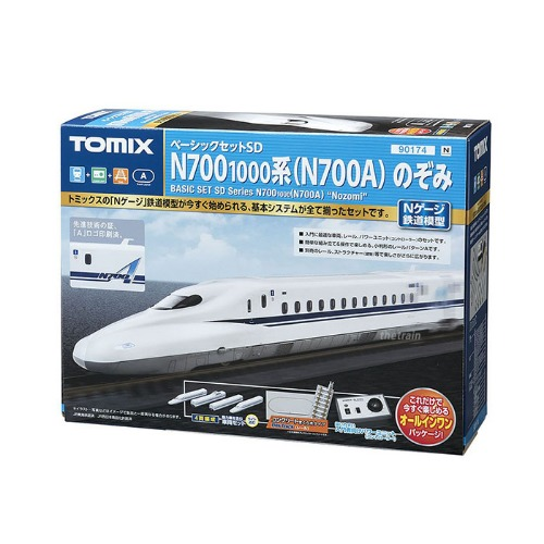 TM90174 Basic Set SD Series N700-1000 (N700A) `Nozomi` 4Car Set