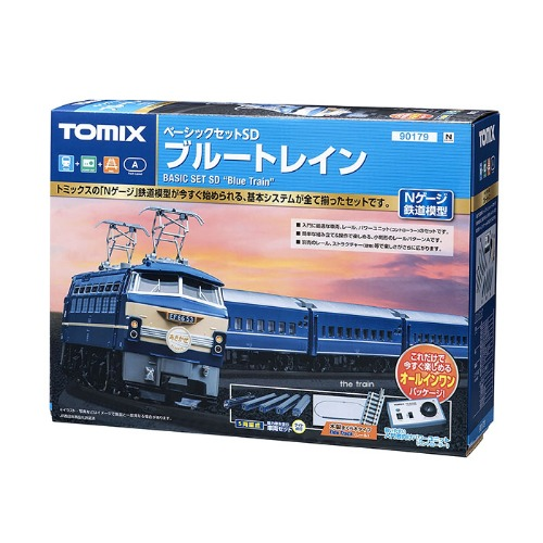 TM90179 Basic Set SD Blue Train (5Car Set)